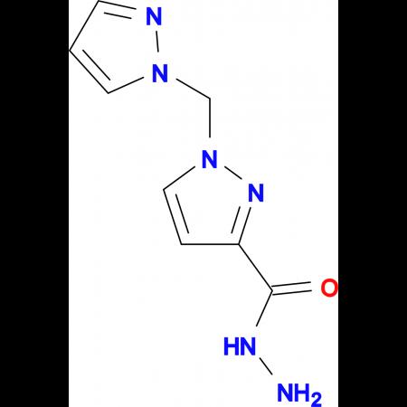 1-Pyrazol-1-ylmethyl-1 H -pyrazole-3-carboxylic acid hydrazide