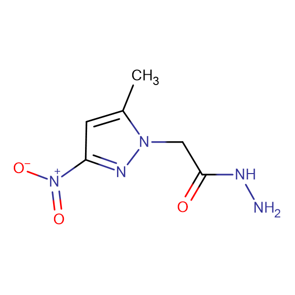 (5-Methyl-3-nitro-pyrazol-1-yl)-acetic acid hydrazide