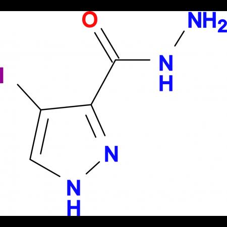 4-Iodo-1 H -pyrazole-3-carboxylic acid hydrazide