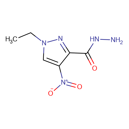 1-Ethyl-4-nitro-1H-pyrazole-3-carbohydrazide