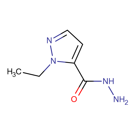 2-Ethyl-2 H -pyrazole-3-carboxylic acid hydrazide