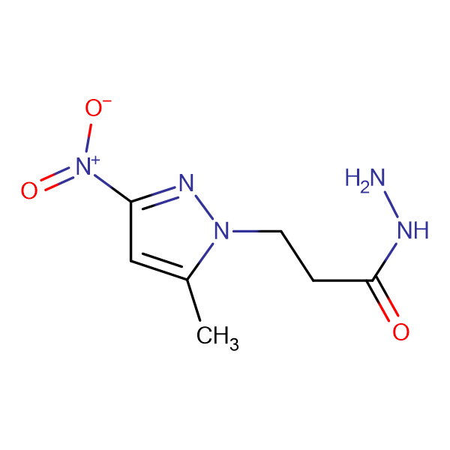3-(5-Methyl-3-nitro-1H-pyrazol-1-yl)propionohydrazide