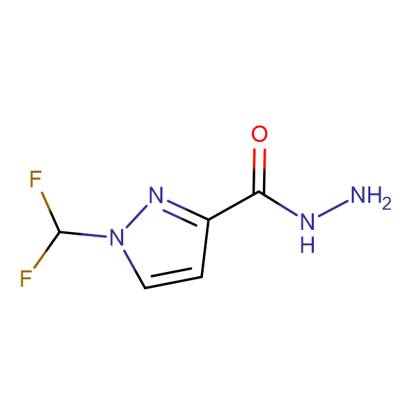 1-(Difluoromethyl)-1H-pyrazole-3-carbohydrazide