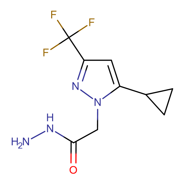 (5-Cyclopropyl-3-trifluoromethyl-pyrazol-1-yl)-acetic acid hydrazide