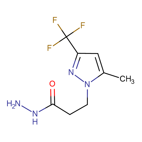 3-(5-Methyl-3-trifluoromethyl-pyrazol-1-yl)-propionic acid hydrazide