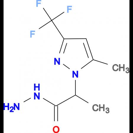 2-[5-Methyl-3-(trifluoromethyl)-1H-pyrazol-1-yl]propionic hydrazide