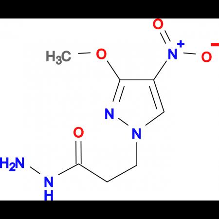 3-(3-Methoxy-4-nitro-1H-pyrazol-1-yl)propionic acid hydrazide