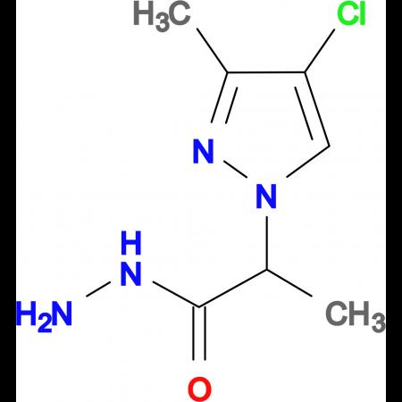 2-(4-Chloro-3-methyl-1H-pyrazol-1-yl)propionic acid hydrazide