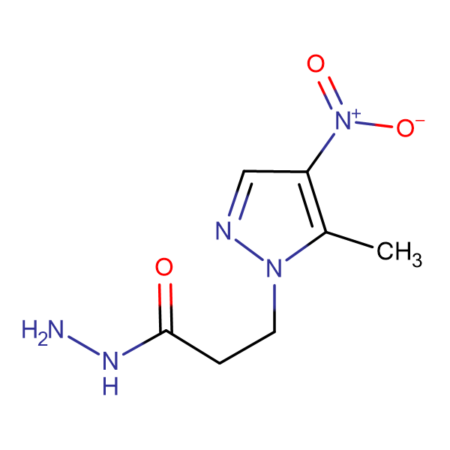 3-(5-Methyl-4-nitro-1H-pyrazol-1-yl)propionic acid hydrazide