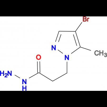 3-(4-Bromo-5-methyl-1H-pyrazol-1-yl)propionic acid hydrazide