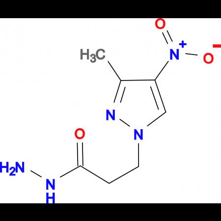 3-(3-Methyl-4-nitro-1H-pyrazol-1-yl)propionic acid hydrazide