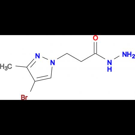 3-(4-Bromo-3-methyl-1H-pyrazol-1-yl)propionic acid hydrazide