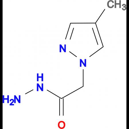 (4-Methyl-1H-pyrazol-1-yl)acetic acid hydrazide