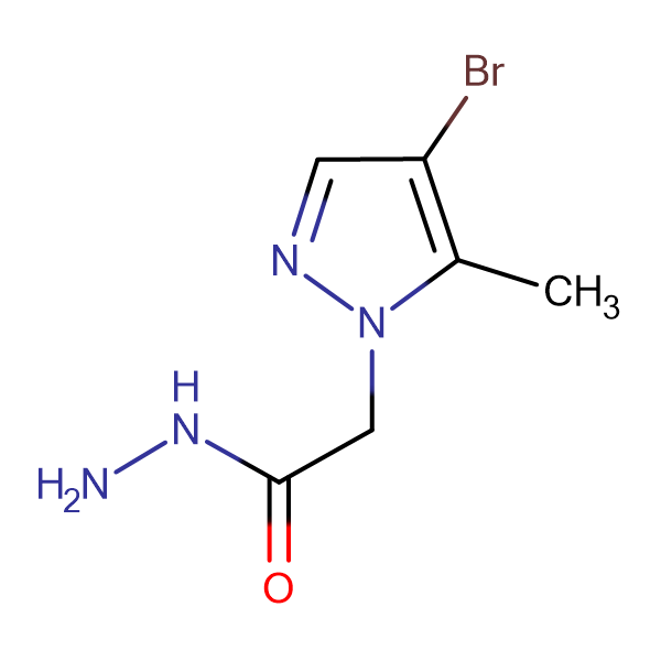 (4-Bromo-5-methyl-1H-pyrazol-1-yl)acetic acid hydrazide