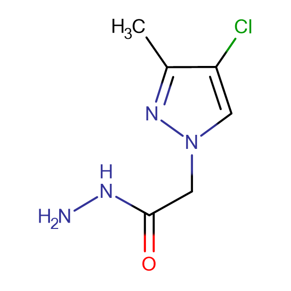 (4-Chloro-3-methyl-1H-pyrazol-1-yl)acetic acid hydrazide