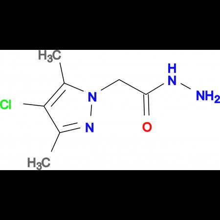 2-(4-Chloro-3,5-dimethyl-1H-pyrazol-1-yl)acetohydrazide