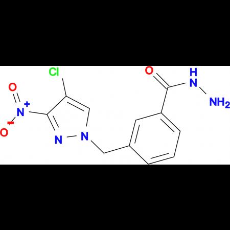 3-(4-Chloro-3-nitro-pyrazol-1-ylmethyl)-benzoic acid hydrazide