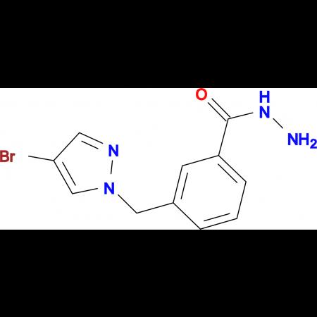 3-(4-Bromo-pyrazol-1-ylmethyl)-benzoic acid hydrazide