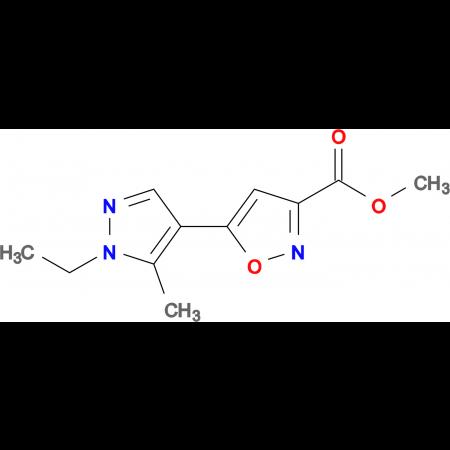 5-(1-Ethyl-5-methyl-1 H -pyrazol-4-yl)-isoxazole-3-carboxylic acid methyl ester