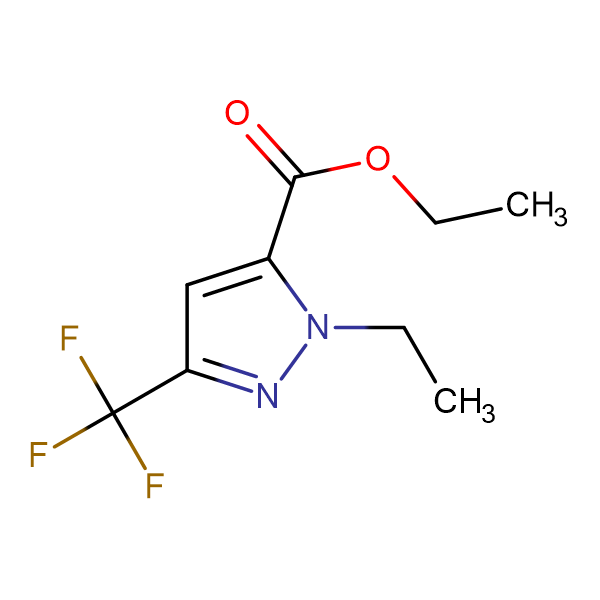 2-Ethyl-5-trifluoromethyl-2 H -pyrazole-3-carboxylic acid ethyl ester