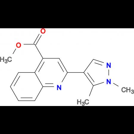 2-(1,5-Dimethyl-1 H -pyrazol-4-yl)-quinoline-4-carboxylic acid methyl ester
