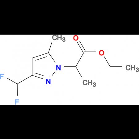 2-(3-Difluoromethyl-5-methyl-pyrazol-1-yl)-propionic acid ethyl ester