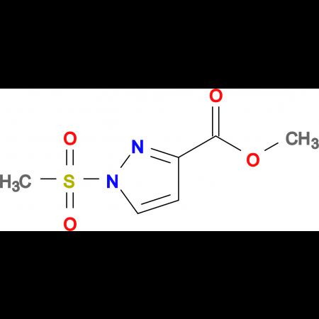 1-Methanesulfonyl-1 H -pyrazole-3-carboxylic acidmethyl ester
