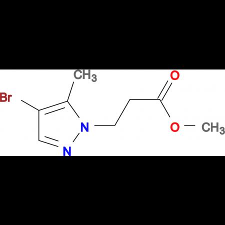 3-(4-Bromo-5-methyl-pyrazol-1-yl)-propionic acid methyl ester