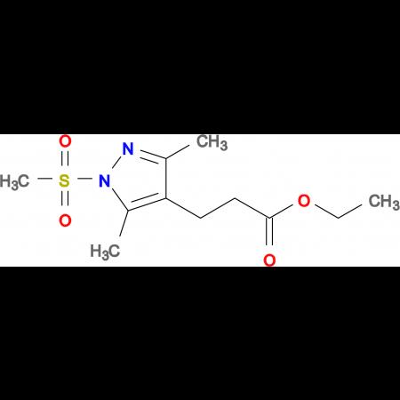 3-(1-Methanesulfonyl-3,5-dimethyl-1 H -pyrazol-4-yl)-propionic acid ethyl ester