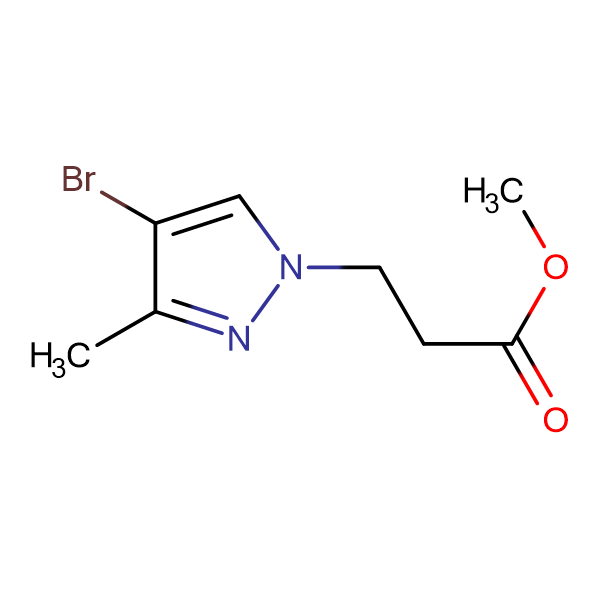 3-(4-Bromo-3-methyl-pyrazol-1-yl)-propionic acid methyl ester