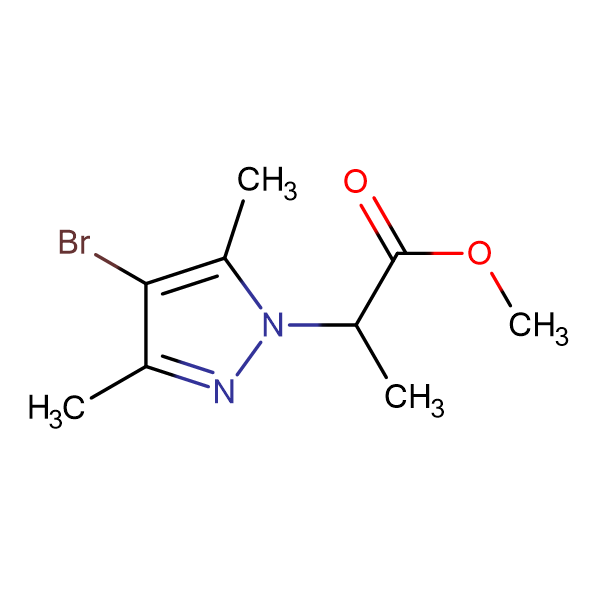 2-(4-Bromo-3,5-dimethyl-pyrazol-1-yl)-propionic acid methyl ester