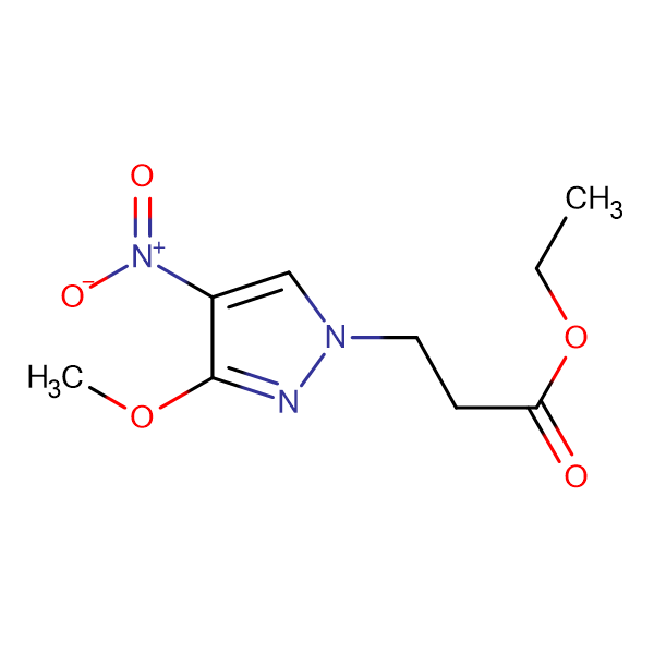 3-(3-Methoxy-4-nitro-pyrazol-1-yl)-propionic acidethyl ester