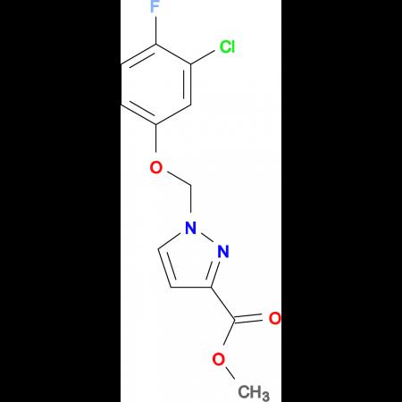 1-(3-Chloro-4-fluoro-phenoxymethyl)-1 H -pyrazole-3-carboxylic acid methyl ester