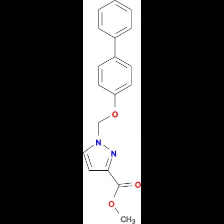 1-(Biphenyl-4-yloxymethyl)-1 H -pyrazole-3-carboxylic acid methyl ester