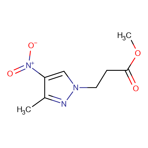 3-(3-Methyl-4-nitro-pyrazol-1-yl)-propionic acid methyl ester