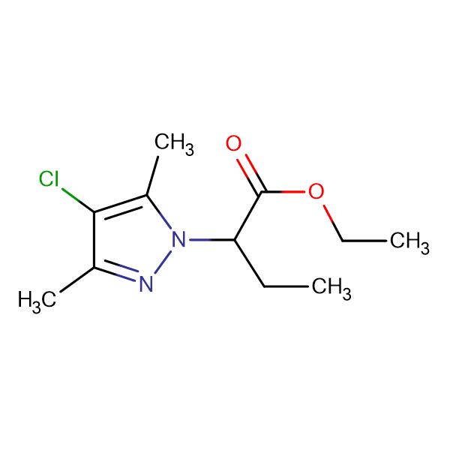 2-(4-Chloro-3,5-dimethyl-pyrazol-1-yl)-butyric acid ethyl ester