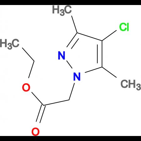 (4-Chloro-3,5-dimethyl-pyrazol-1-yl)-acetic acid ethyl ester
