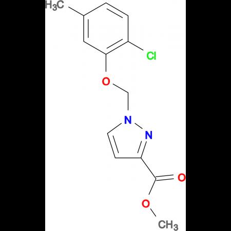 1-(2-Chloro-5-methyl-phenoxymethyl)-1 H -pyrazole-3-carboxylic acid methyl ester