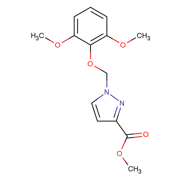 1-(2,6-Dimethoxy-phenoxymethyl)-1 H -pyrazole-3-carboxylic acid methyl ester