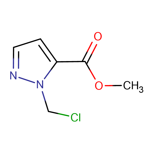 2-Chloromethyl-2 H -pyrazole-3-carboxylic acid methyl ester