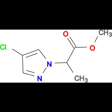 2-(4-Chloro-pyrazol-1-yl)-propionic acid methyl ester