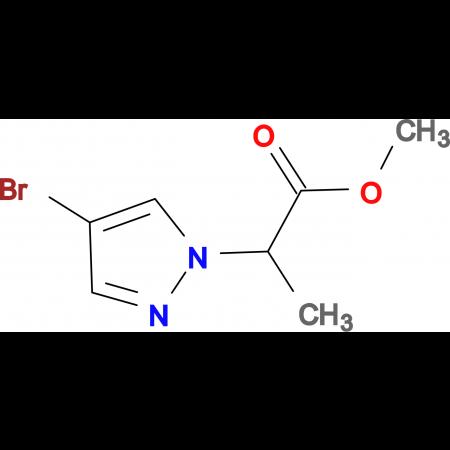 2-(4-Bromo-pyrazol-1-yl)-propionic acid methyl ester