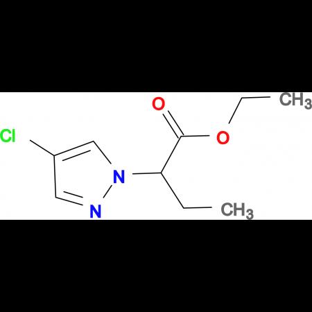 2-(4-Chloro-pyrazol-1-yl)-butyric acid ethyl ester