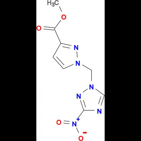 1-(3-Nitro-[1,2,4]triazol-1-ylmethyl)-1 H -pyrazole-3-carboxylic acid methyl ester