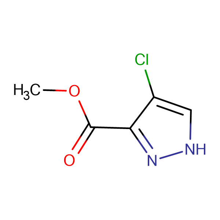 4-Chloro-1 H -pyrazole-3-carboxylic acid methyl ester