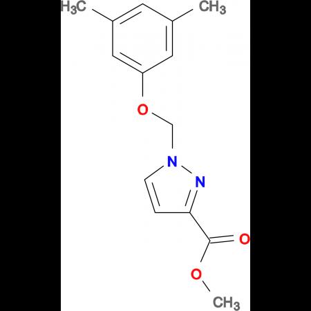 1-(3,5-Dimethyl-phenoxymethyl)-1 H -pyrazole-3-carboxylic acid methyl ester