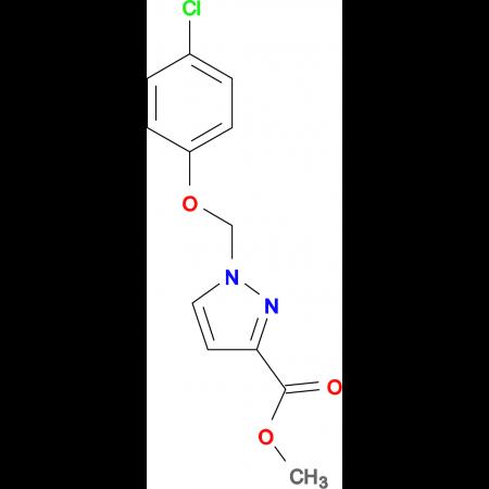 1-(4-Chloro-phenoxymethyl)-1 H -pyrazole-3-carboxylic acid methyl ester