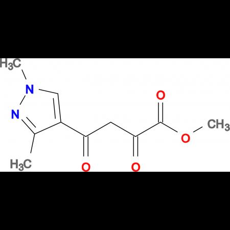 4-(1,3-Dimethyl-1 H -pyrazol-4-yl)-2,4-dioxo-butyric acid methyl ester