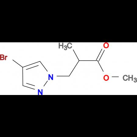 3-(4-Bromo-pyrazol-1-yl)-2-methyl-propionic acid methyl ester