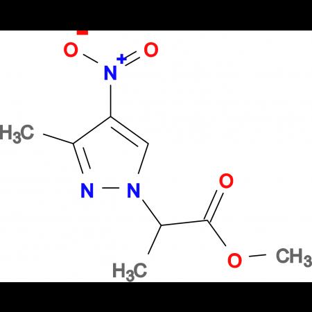 2-(3-Methyl-4-nitro-pyrazol-1-yl)-propionic acid methyl ester